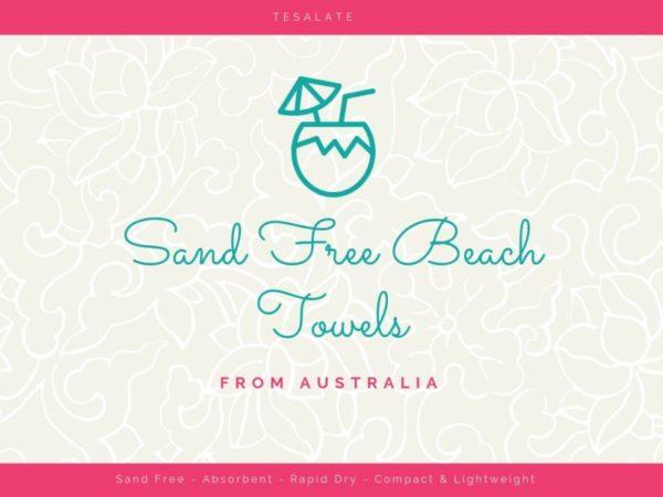 Beautiful Sand Free Beach Towels {Tesalate}
