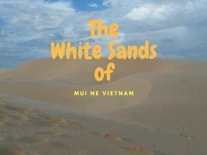 The Beautiful Sand Dunes Of Mui Ne {Vietnam}