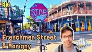 Frenchmen Street New Orleans Walking Tour + Marigny (4k)