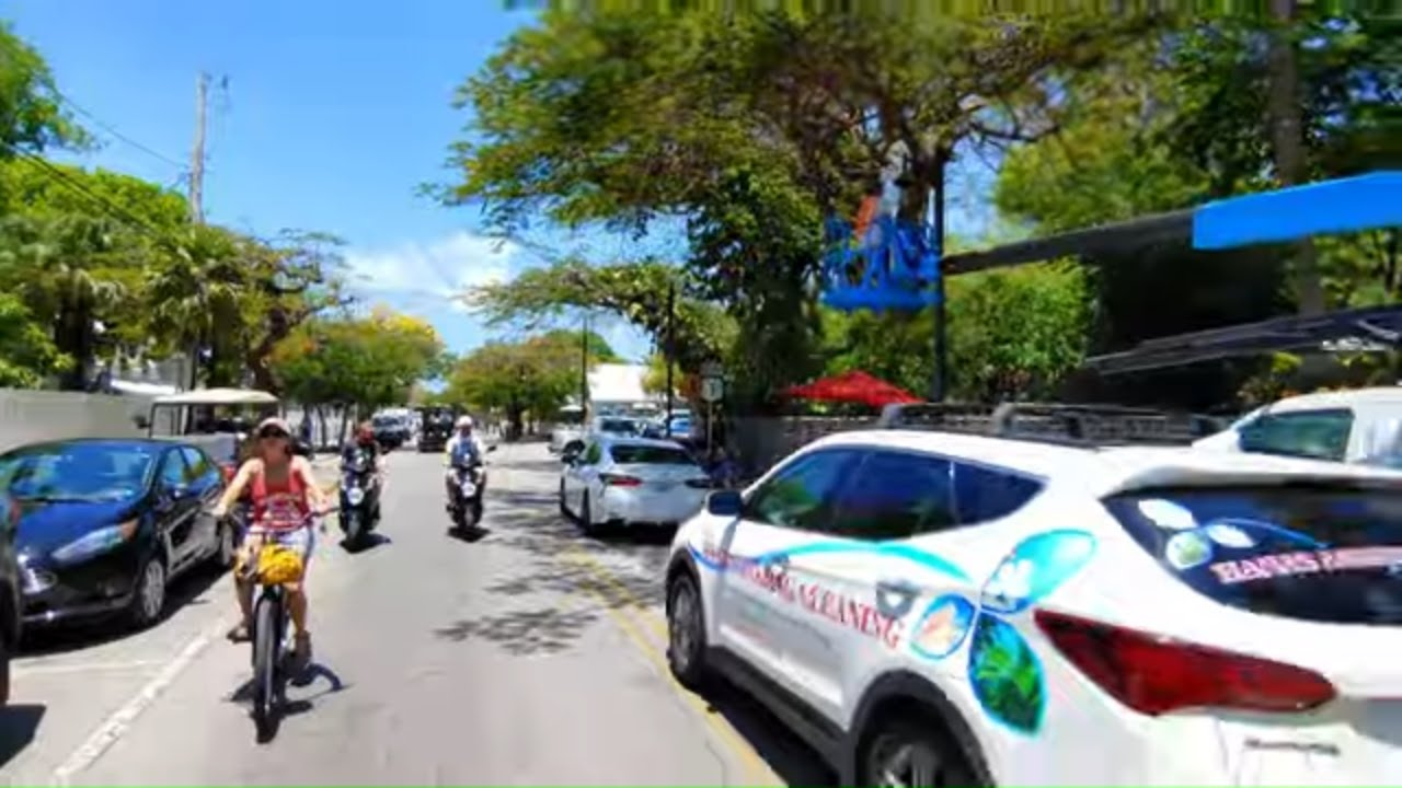 Key West, Florida Street Tour – 4K