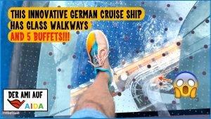 Gorgeous AIDAperla German Cruise Ship Tour, April 2021, Canary Islands