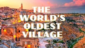 MATERA, BASILICATA. The oldest village in the world