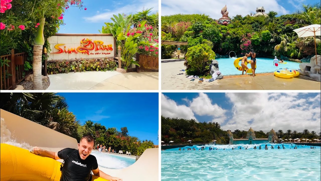 Siam Park Tenerife is OPEN-full day with New restrictions, rides, tips & tricks!