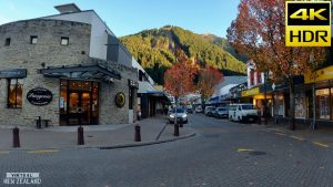 【4K HDR】Walk Tour Queenstown New Zealand!
