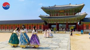 [4K]Seoul Walk – Free entrance to Gyeongbokgung Palace if you wear hanbok. Walking Tour South Korea.
