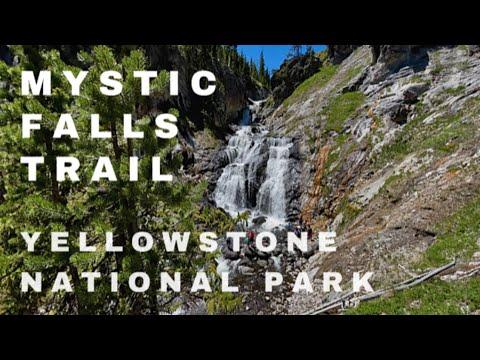 MYSTIC FALLS TRAIL at YELLOWSTONE NATIONAL PARK | Yellowstone Waterfalls | Biscuit Basin
