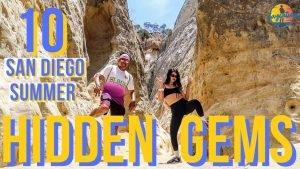 10 SAN DIEGO Hidden Gems To VISIT in the Summer!