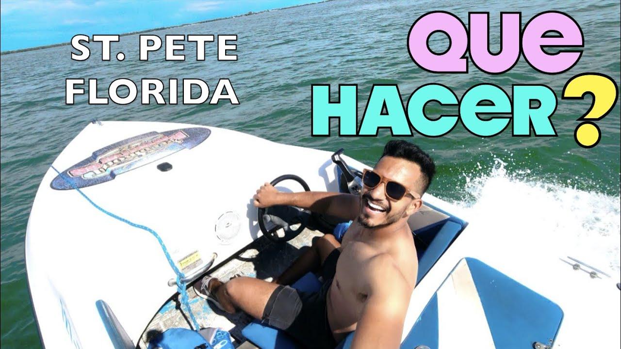 QUÉ HACER EN ST PETE FLORIDA EN 3 DIAS!