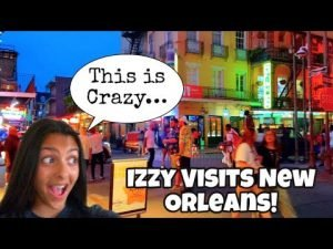 Izzy VCR: Izzy Visits New Orleans!