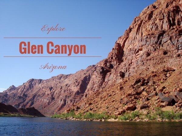 Images Of Glen Canyon Arizona {River Rafting}