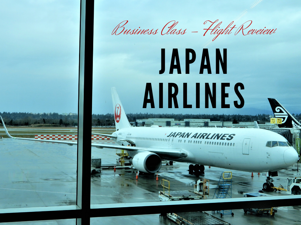 Japan Airlines Business Class Flight {Review}