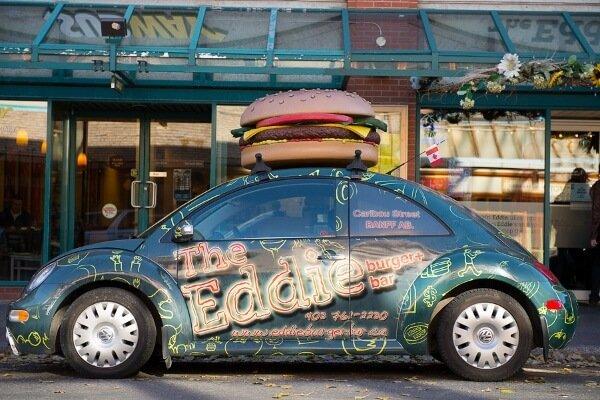 Restaurants In Banff Alberta {Eddie Burger+Bar}