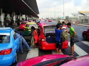 Bangkok Airport Transfer Options {Suvarnabhumi}