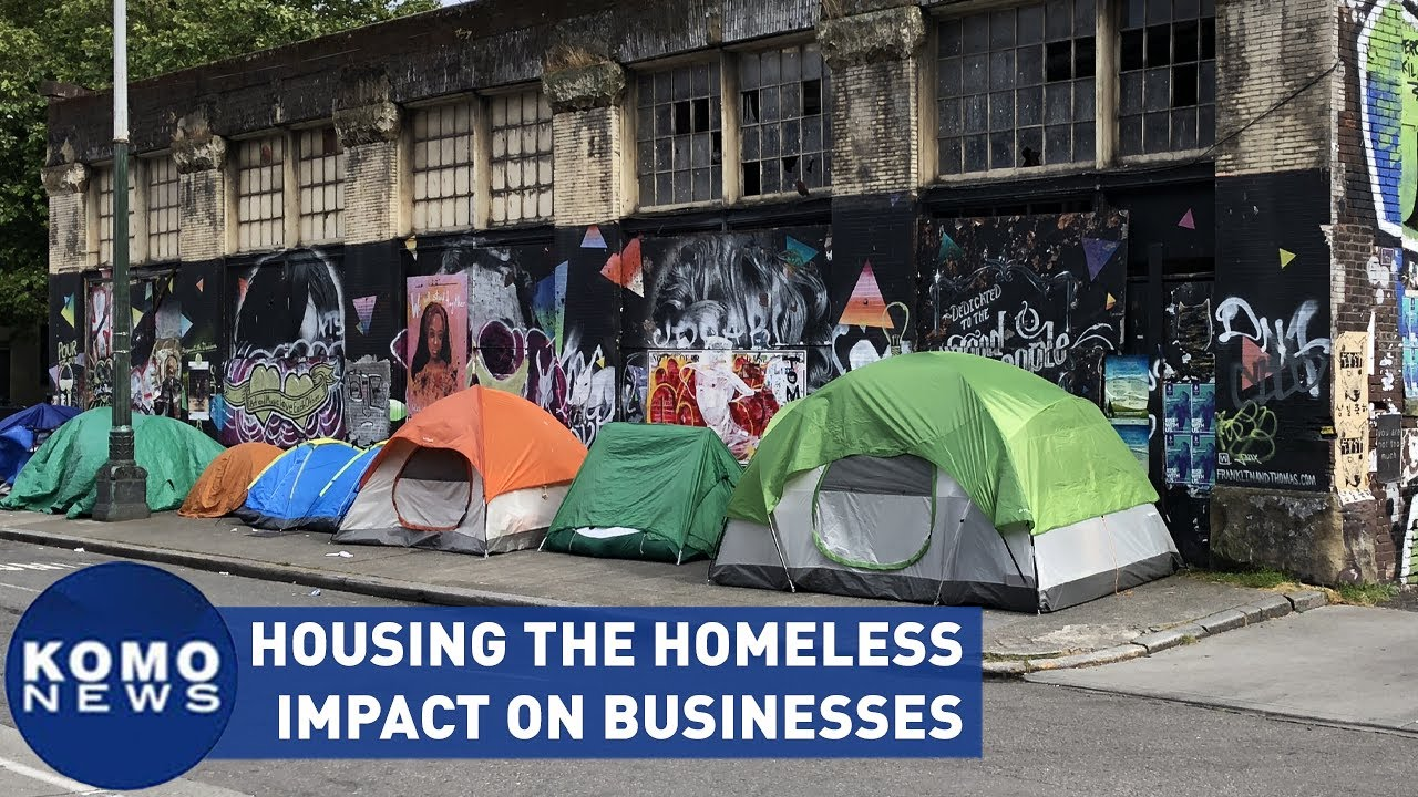 Housing the homeless impact on Seattle businesses