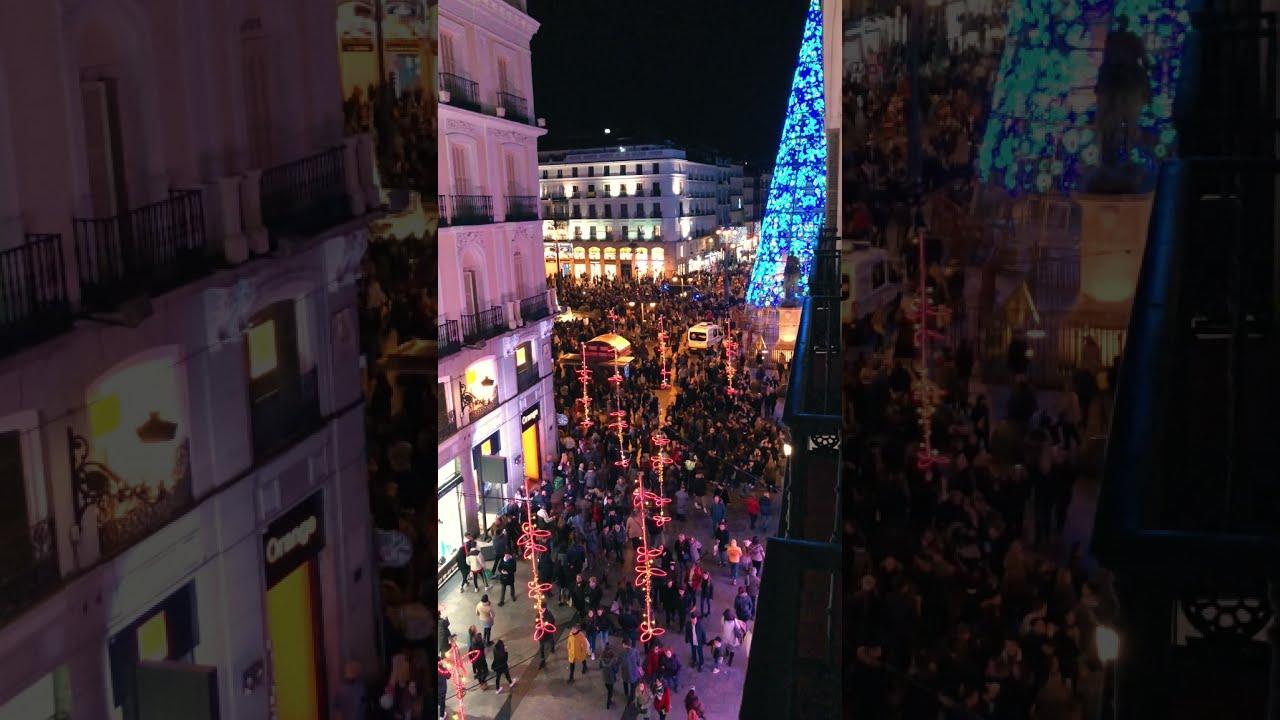 MADRID – Spain trip by night