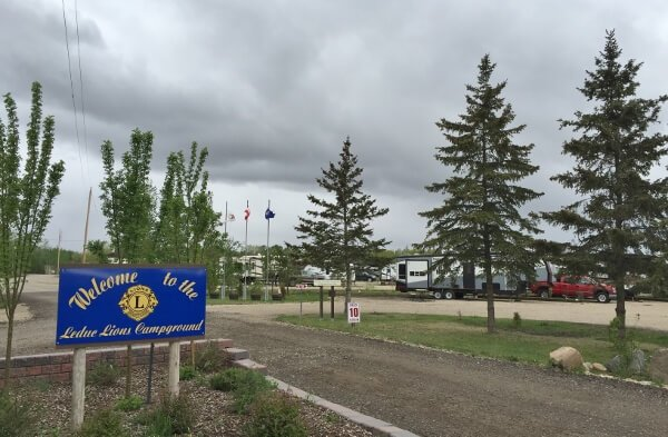 Camping Near Leduc Alberta {Lions RV Park}