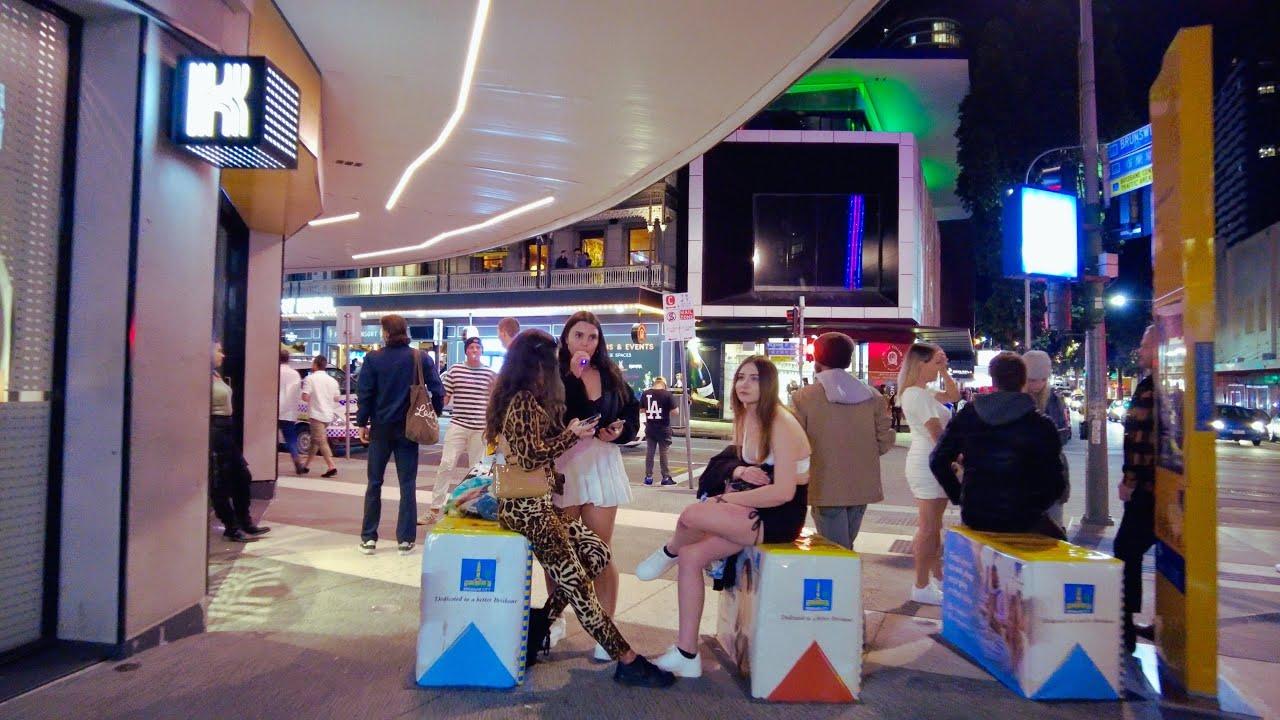 Brisbane City Night Walk – Queensland | Australia