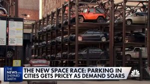 Parking at a premium in New York City as demand soars, along with prices